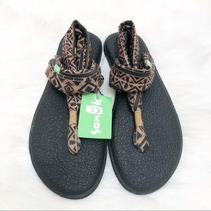 Sanuk Yoga Mat Sling 2 Printed Sandals Tribal